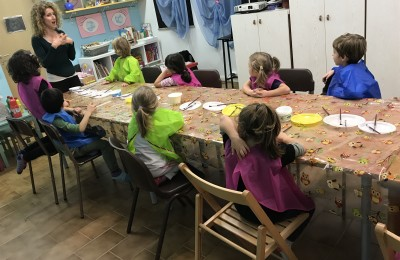 Bambini 3/10 anni: Teatro ArteTeatroMovimento Yoga-Laboratori artistici Psicomotricità